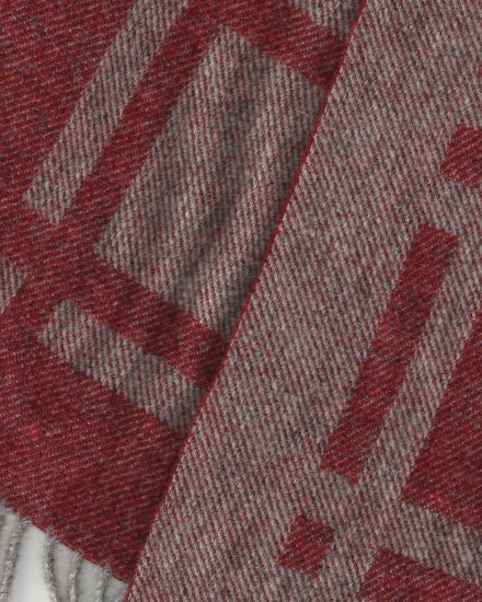 Laura's Loom, Cumbrian Summer Blanket, Bracken detail