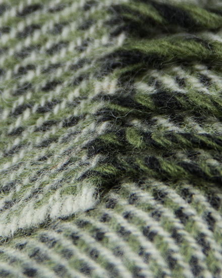 Laura's Loom, Scarves, Howgill Classic, Soft Twill Moss
