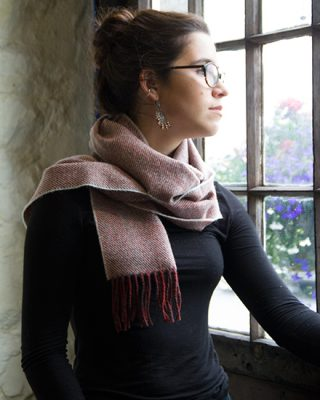 Laura's Loom, Scarves, Howgill Classic, Soft Twill model
