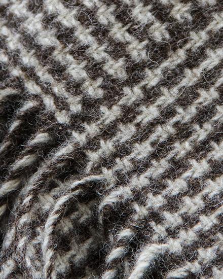 :aura's Loom, Log Cabin Blanket, Lindeth