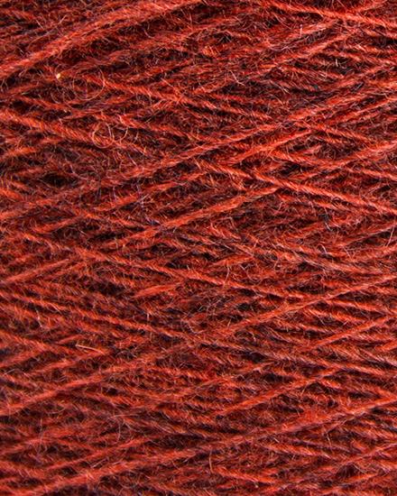 Laura's Loom, Cumbrian Tweed Yarn, Madder