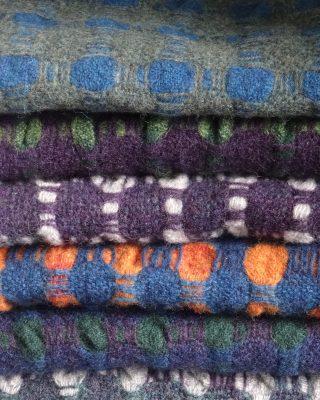 Laura's Loom, lambswool, scarf