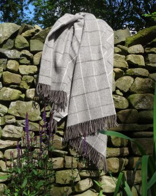 Laura's Loom, Twill Blanket, British wool