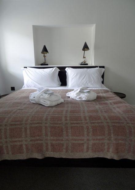 Laura's Loom, Cumbrian Summer Blanket, 100% wool, Sandstone, Sedbergh