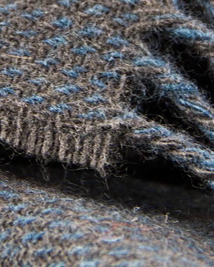Laura's Loom, Scarves, Howgill Classic, deepest Tarn