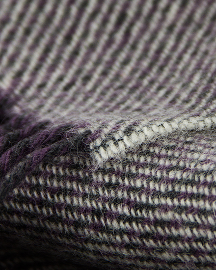 Laura's Loom, Scarves, Howgill Classic, Soft Twill Clover