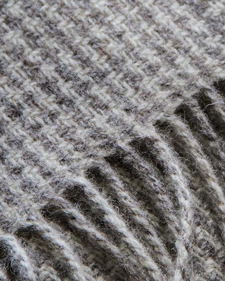 Laura's Loom, Log Cabin Blanket, Storrs