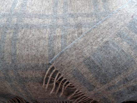 Laura's Loom, Cumbrian Summer Blanket, 100% wool, Ocean, Sedbergh