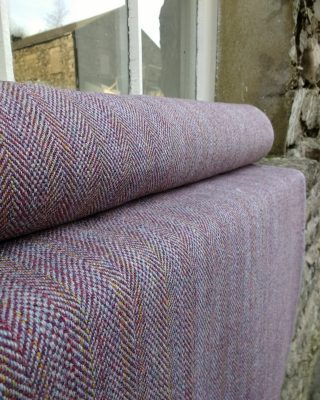 Laura's Loom, handwoven tweed, Ali Sharman, Shetland, tweed, cloth, wool