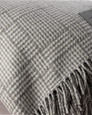 Laura's Loom, Log Cabin, blanket, 100% British wool