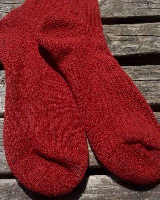 Laura's Loom, Howgill socks, wool socks, Hawthorn