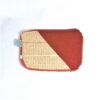 Laura's Loom, zipped pouch, red-yellow