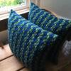 Laura's Loom, handwoven, cushion, lambswool