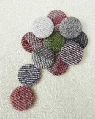 Laura's Loom, Wool Brooch