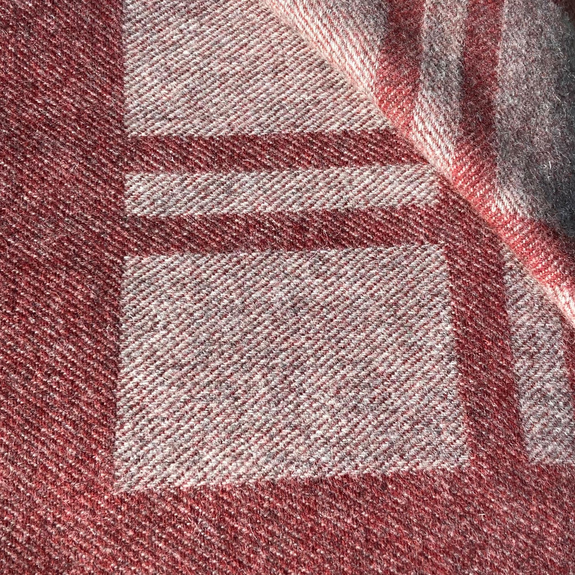 Laura's Loom, Cumbrian Summer, Blanket, Great Burnet