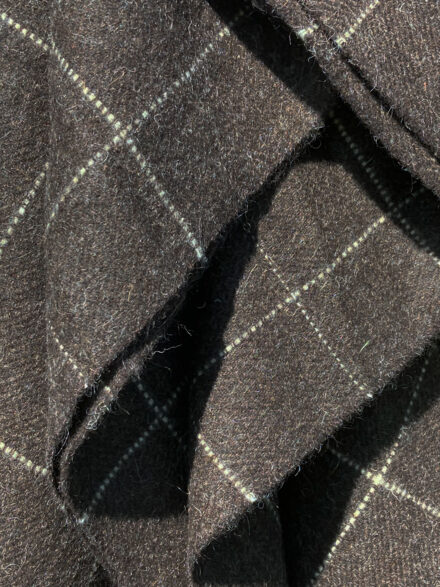 Laura's Loom, Hebridean, Blanket, Dark Nevis